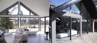 panoramic aluminium sliding patio doors
