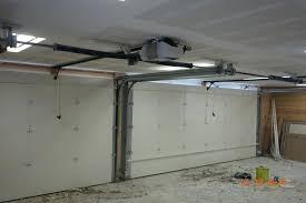 low profile garage door opener garage door opener low clearance installation genie low profile garage door opener