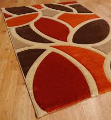rug burnt orange rugs nbacanottes ideas for area with white swirls pulliamdeffenbaugh plush living room ikea grey dining blue fur bedroom