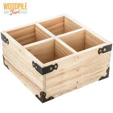 hobby lobby wood 4 compartment box