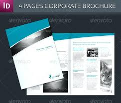 One Page Brochure Template Sample Core Facilities Marketing ...