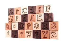 wood alphabet blocks wooden large