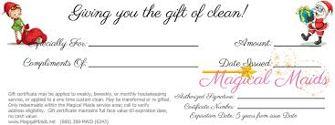 gift certificates christmas 3