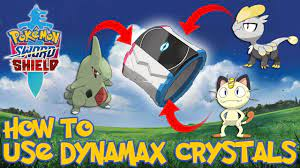 How to Use Larvitar, Jangmo- o, Meowth Dynamax Crystals - Pokemon Sword &  Shield - YouTube