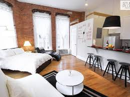 looking for a studio apartment. Unique For Wow This Is An Amazing Looking Studio Apartment Brick Walls And The Wall  Clock Are Notable Features Very Clean Layout On Looking For A Studio Apartment Pinterest
