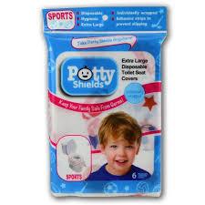 Disposable Toilet Potty Shields Disposable Toilet Seat Shields Sport Tiny Toes