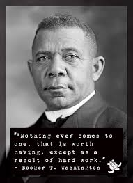 Booker T Washington Quotes Stunning Booker T Washington Hard Work Quote