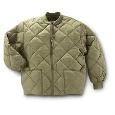 Quilted Flight Jacket | Jackets Review & Military Style Insulated Diamond Quilted Flight Jacket - 95897 . Adamdwight.com