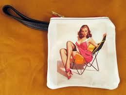 pin up cosmetic bags