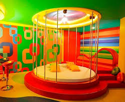 rainbow theme bedrooms - rainbow bedroom decorating ideas - rainbow decor -  rainbow wall murals -