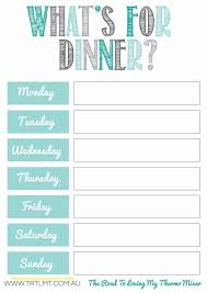 monthly meal planner template awesome monthly meal planner template free template 2018