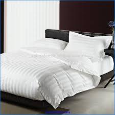 china new thermal blanket hotel luxury 5 stars satin white 3cm stripe 300tc duvet