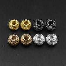 50 piece/<b>lot 8mm</b> Rhinestone Rondelles Crystal Bead Loose Spacer ...