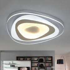 2019 <b>Ultrathin Surface Mounted Triangle</b> Modern Led Ceiling Lights ...