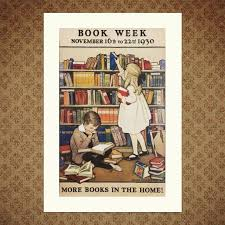 a wonderful vine poster for book week november 1930 reion available