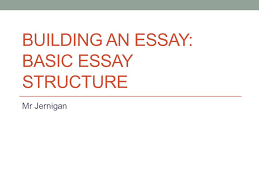 building an essay basic essay structure ppt video online  building an essay basic essay structure