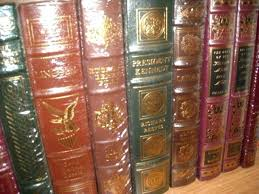 leather bound books for images larger view harry potter with removable horcrux bookmarks used classic franklin library