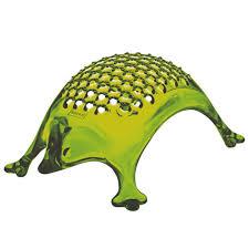 koziol kasimir hedgehog cheese grater transparent olive green  ebay