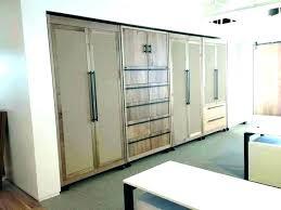 installing sliding closet doors hanging room divider s wardrobe pax