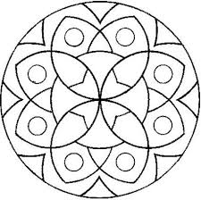 Small Picture Easy Mandalas To Color Free Download Easy Mandalas To Color In