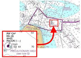 Racon Chart Symbol How To Sail With Confidence Near Shipping Lanes