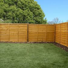 image to enlarge 4ft x 6ft waltons lap garden wooden fence panels