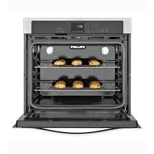whirlpool 27 4 3 cu ft single wall oven with steamclean