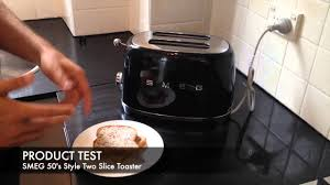 Retro Toasters smeg retro 50s style two slice toaster tsf01 unboxing 7238 by xevi.us