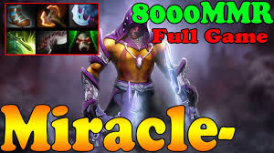 dota 2 miracle 8000 mmr plays anti mage full game ranked