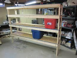 Workshop Cabinets Diy 20 Diy Garage Shelving Ideas Guide Patterns