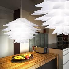 Pendelleuchte Chrom Weiß Beleuchtung Hängelampe Schlafzimmer Lampe Reality Bromelie R35221001