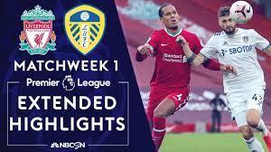 Liverpool v. Leeds United | PREMIER LEAGUE HIGHLIGHTS | 9/12/2020 | NBC ...  | Premier league highlights, Premier league news, Leeds united