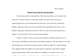 benito cereno and the american hero a level history marked by  document image preview