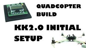 quadcopter build kk2 0 initial setup eluminerrc