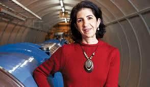 Resultado de imagen de Fabiola Gianotti, portavoz del experimento ATLAS, ofreció algunos avances: