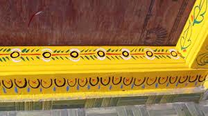 Gadapa Muggulu Designs Gadapa Designs Gummam Muggulu Design Threshlod Painting