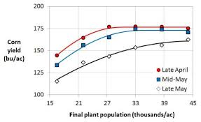 Optimal Corn Plant Populations In Minnesota Umn Extension