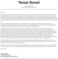 Opening Of Cover Letter Library Assistant Cover Letter Examples Samples Templates