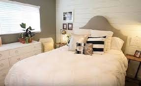 modern bedroom for couple. Interesting For Shiplap Walled Couple Bedroom On Modern For Couple S