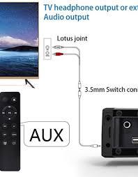 Sound Bar LP-09 Bluetooth Speaker Home Furniture TV Echo Wall Soundbar  Wall-Mounted Remote Control U-Disk - G&G Bermuda