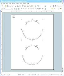 Disc Label Template Jewel Case Cover Spine Labels Word Free