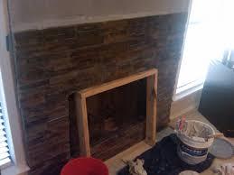 wonderful stone veneer dry stack over brick remodeling diy room home regarding stone veneer over brick fireplace modern
