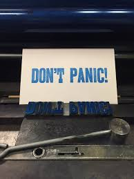 <b>Don't Panic</b>! with lollipop | <b>Printing</b> some <b>Don't Panic</b> postc… | Flickr