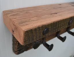 Reclaimed Wood Coat Rack Shelf Woodworking Creations Blank Title 44