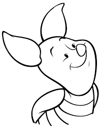 From animals, to sports, to flowers, there is no shortage of coloring pages here! Cute Piglet For Kids Coloring Page Free Printable Coloring Pages Coloring Home