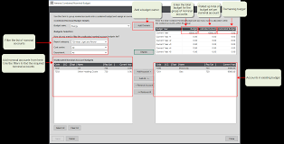 Create And Amend An Individual Nominal Account