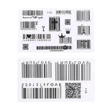 <b>bar code sticker</b>