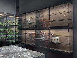 wall cabinet with sliding doors by