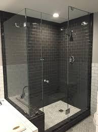 enclosures frameless shower door