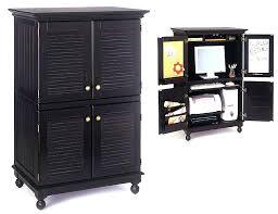 desk armoires with distressed sauder desk computer armoire black ideas cool computer armoire black sauder